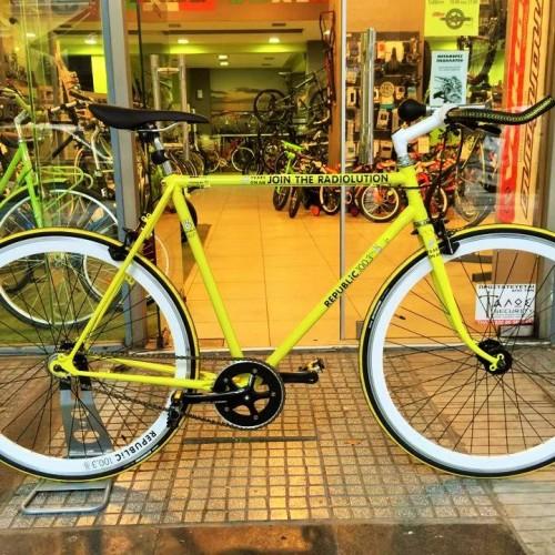 It's Cyclelogical! Το «κίτρινο», «επαναστατικό», republic-άνικο ποδήλατο!