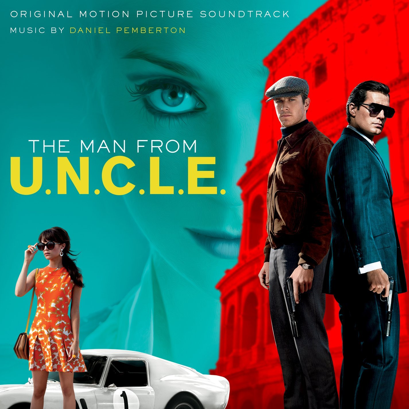 Daniel Pemberton ‎– The Man From U.N.C.L.E.