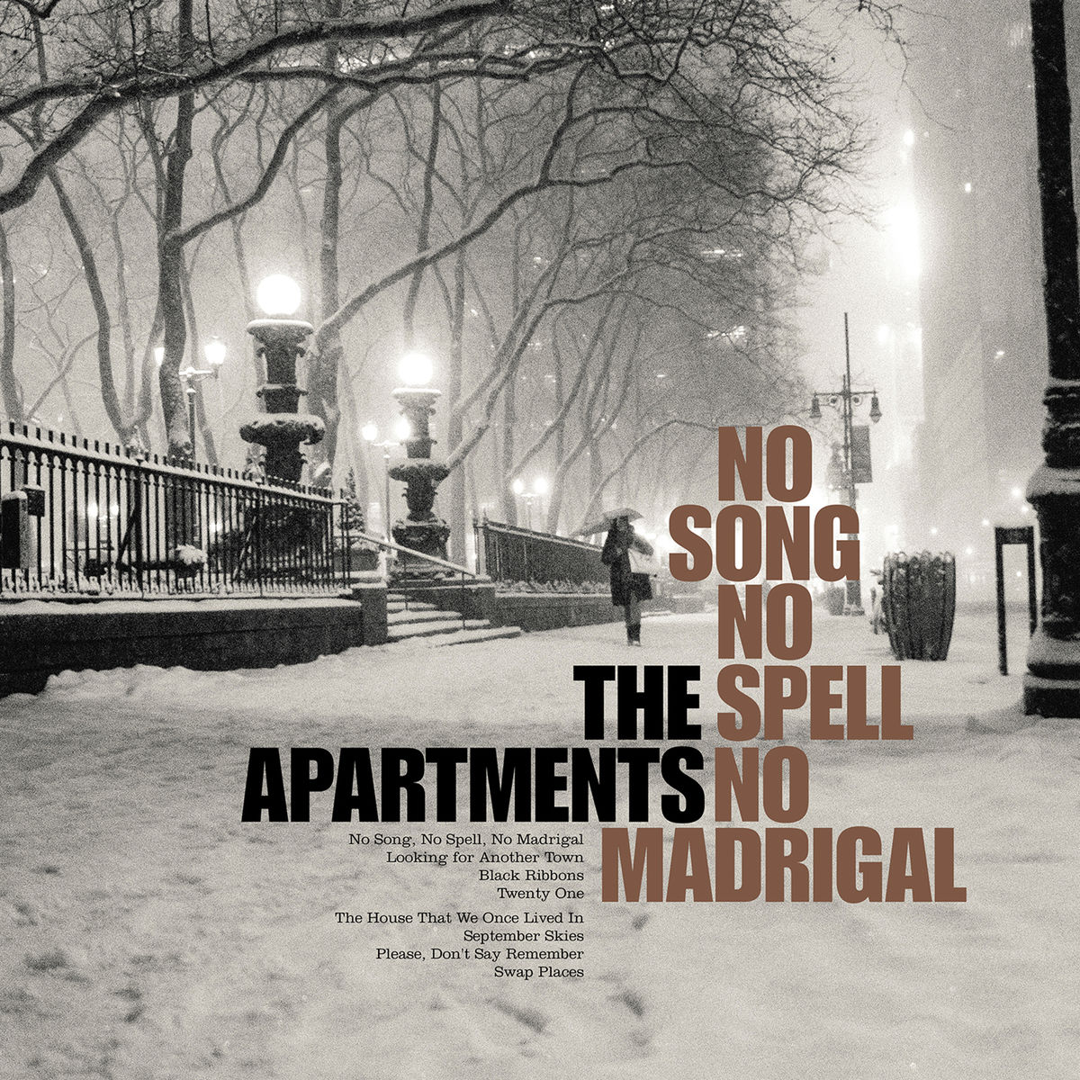 The Apartments ‎– No Song No Spell No Madrigal