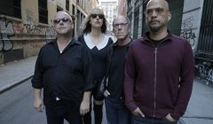 LEFT TO RIGHT:  Black Francis, Kim Shattuck, David Lovering, Joey Santiago